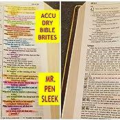 Set Of 8 Accu-Dry Bible-Brites
