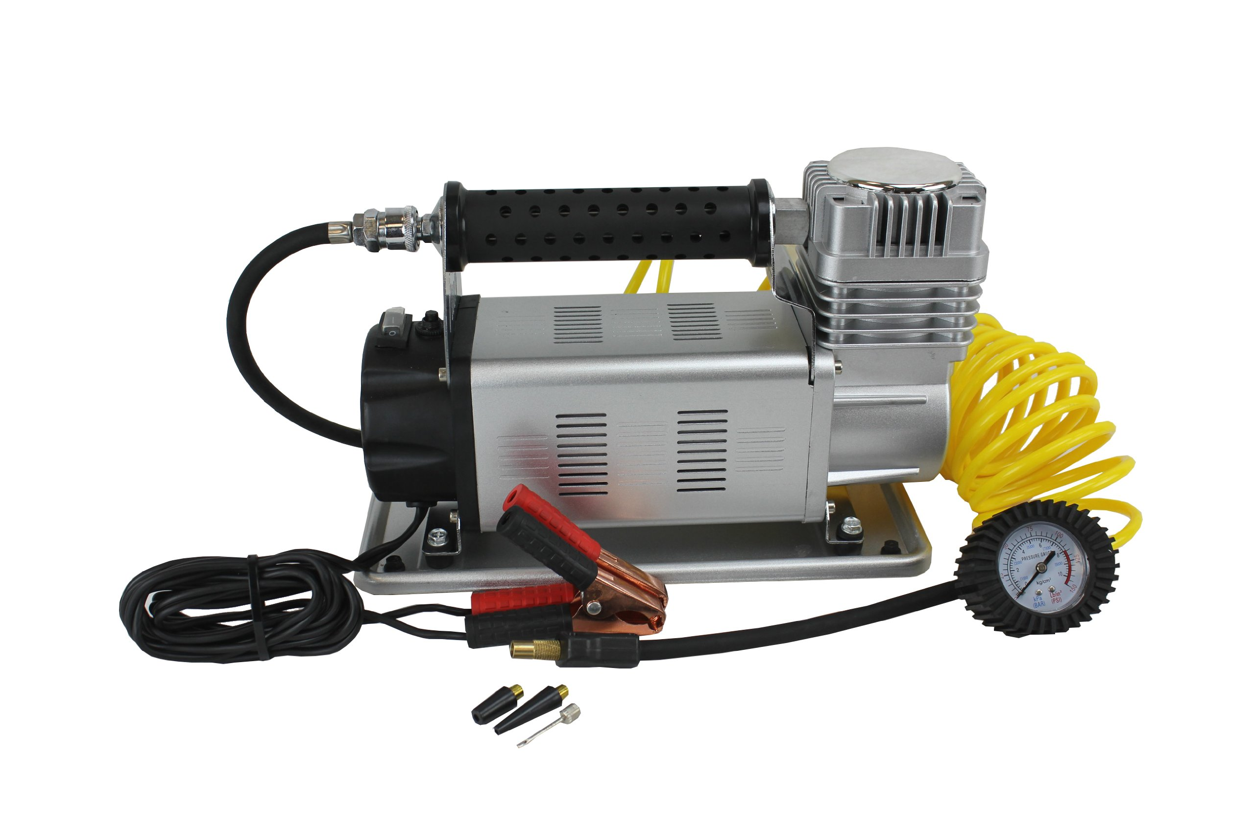 Tuff Stuff Xtreme Portable Air Compressor 150psi High Volume- 35'' and Larger Tires by Tuff Stuff