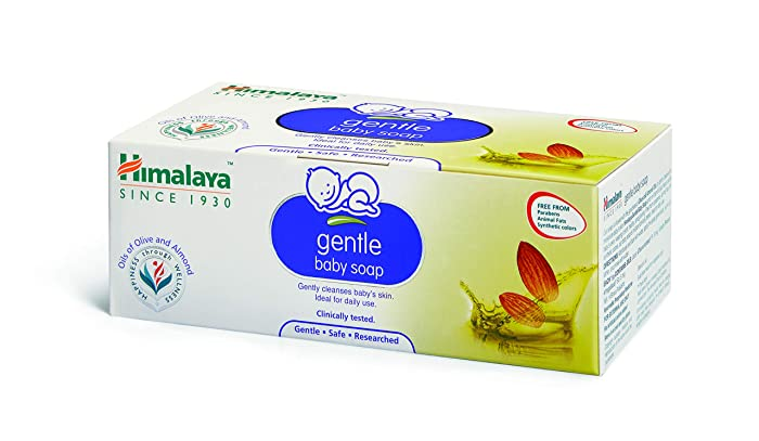 Himalaya Gentle Baby Soap Pack of 6 x 75g
