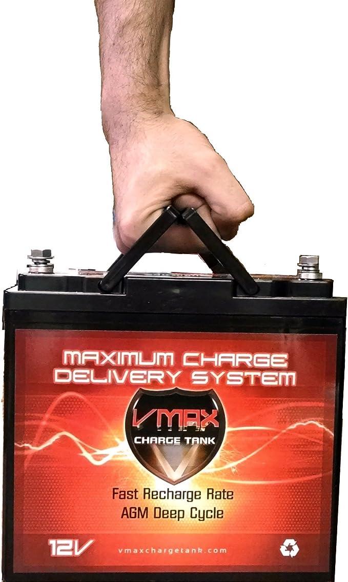 VMAX MR137 12V AGM Battery for Minn Kota Endura Max 55 Trolling Motor