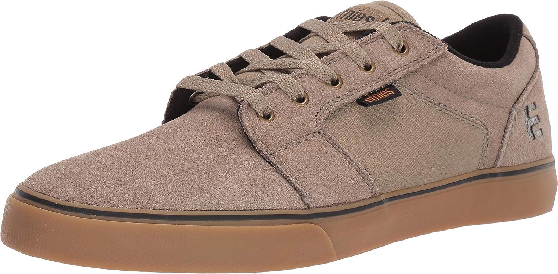 Etnies Barge Ls, Zapatillas de Skateboard para Hombre, Dark Grey/Grey/Red, Schwarz