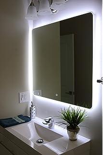 Windbay Backlit Led Light Bathroom Vanity Sink Mirror Illuminated Mirror 36