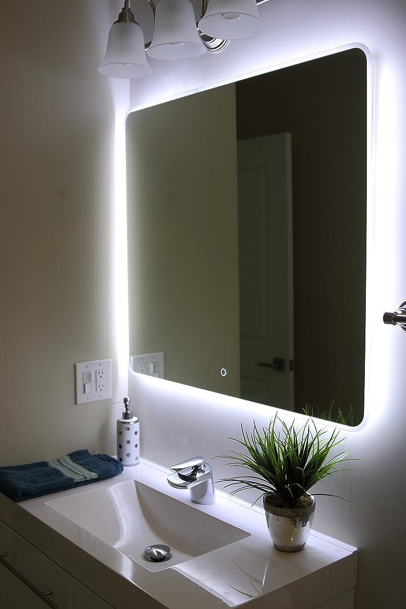 "Windbay Backlit Led Light Bathroom Vanity Sink Mirror. Illuminated Mirror. (36"")"