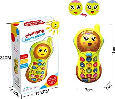 Baby Phone Toy 3 12 Months Baby Phone Toy 6 9 Month Old Toys Gift For Baby Girl Boys Toy 9 18 Months Toddlers Baby Toy Phone For 1 2 3 Year Olds Boy Girl