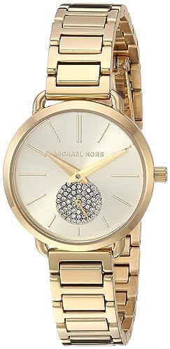 Michael Kors Reloj Analogico para Mujer de Cuarzo con Correa en Acero Inoxidable MK3838