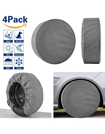 112ae5aff28 Amazon.com  Tire Covers - Tire Accessories   Parts  Automotive