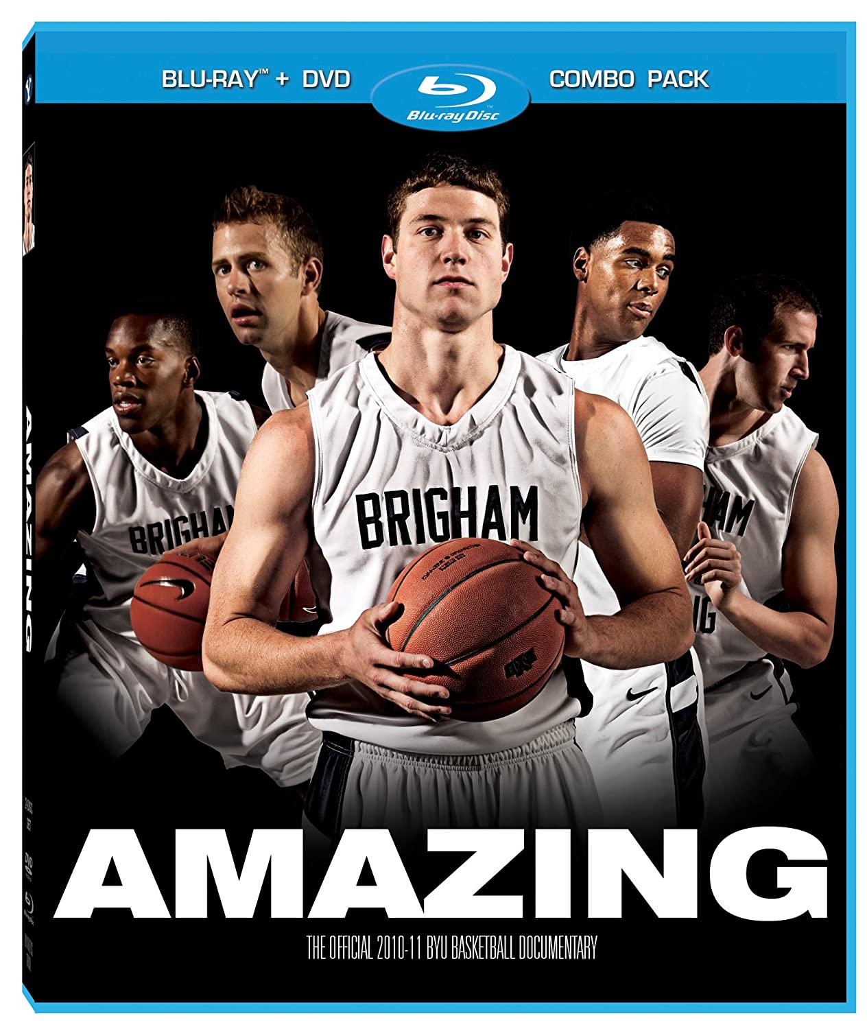 Amazon.com: Amazing: The Official 2010-11 BYU Basketball Documentary Blu-Ray/DVD Combo: Jimmer Fredette, Jackson Emery, Coach Dave Rose, Dick Vitale, ...