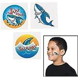 "72 ~ Shark Temporary Tattoos ~ Approx. 1.5"" ~ New"