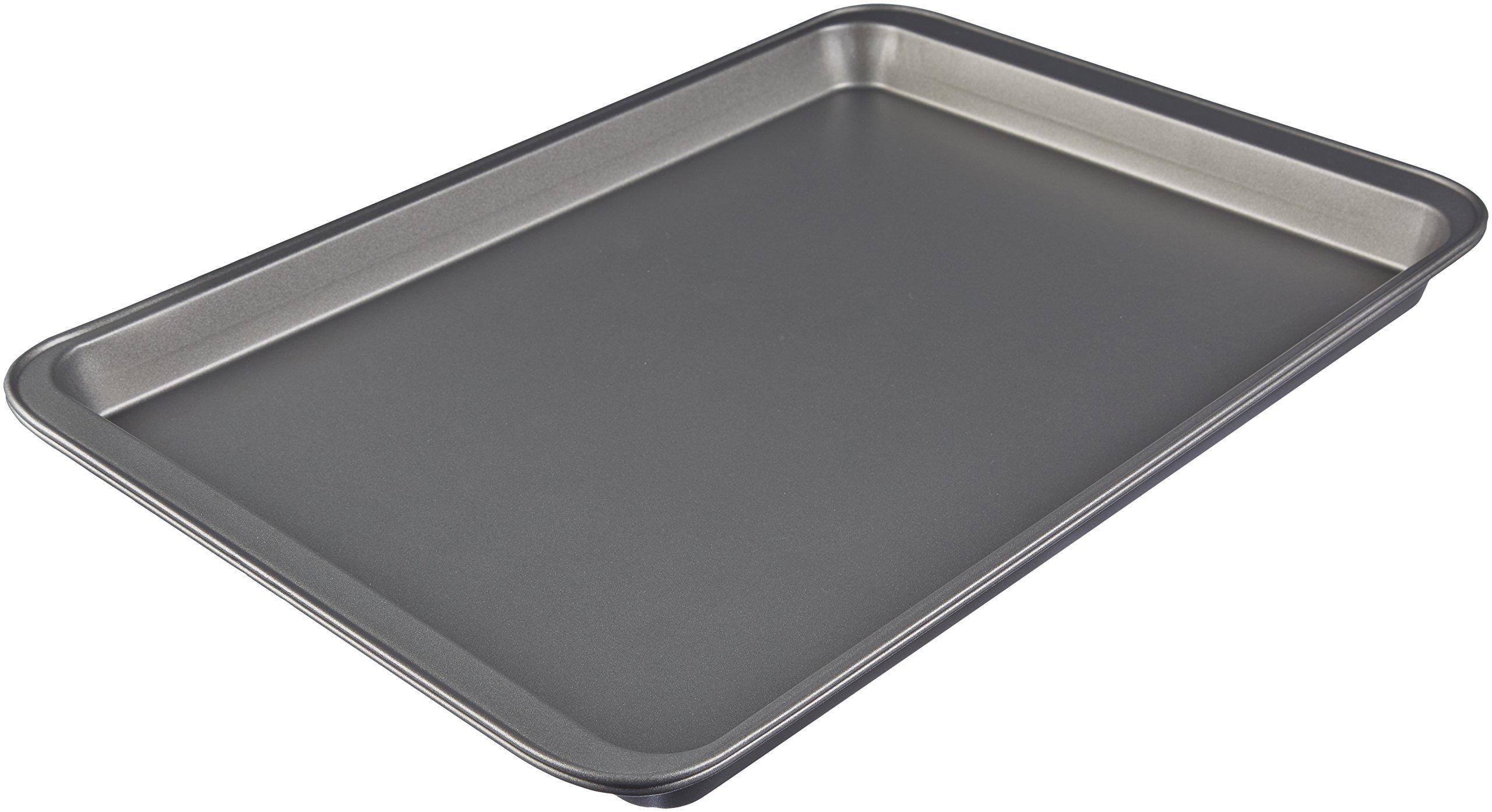 AmazonBasics Nonstick Carbon Steel Half Baking Sheet - 2-Pack by AmazonBasics (Image #3)