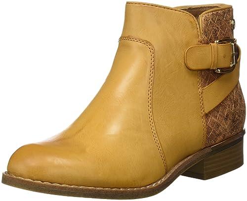 XTI 046736, Botines para Mujer, Hueso (Camel), 41 EU: Amazon.es: Zapatos y complementos