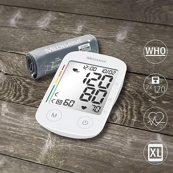 Medisana BU 535 VOICE Antebrazo 2 usuario(s) - Tensiómetro (Antebrazo, Blanco, 2 usuario(s), LCD, AA, 1,5 V): Amazon.es: Salud y cuidado personal