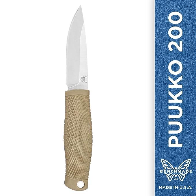 Benchmade - Puukko 200 Cuchillo de buje Fijo Fabricado en ...