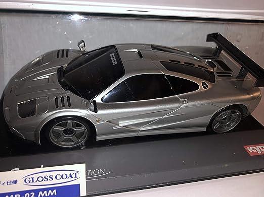 Amazon.com: Kyosho Mini Z Silver Mclaren F1 MZX203S Auto ...
