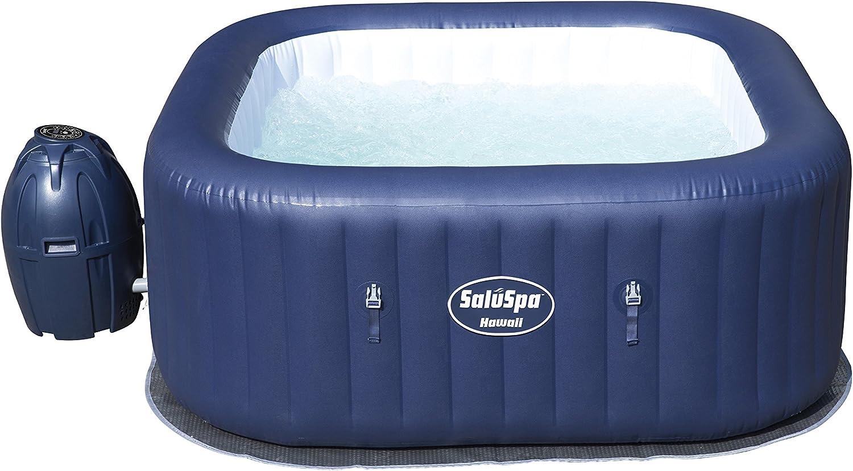 Bestway SaluSpa Hawaii AirJet 6-Person Portable Inflatable Spa Hot Tub, 54155E