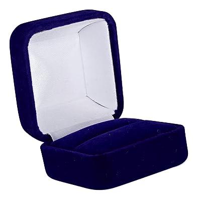 Deluxe Blue Velvet Ring Box 1 7/8 inch X 1.75 inch X 1 3  sc 1 st  Amazon.com & Amazon.com: Deluxe Blue Velvet Ring Box 1 7/8 inch X 1.75 inch X 1 ... Aboutintivar.Com