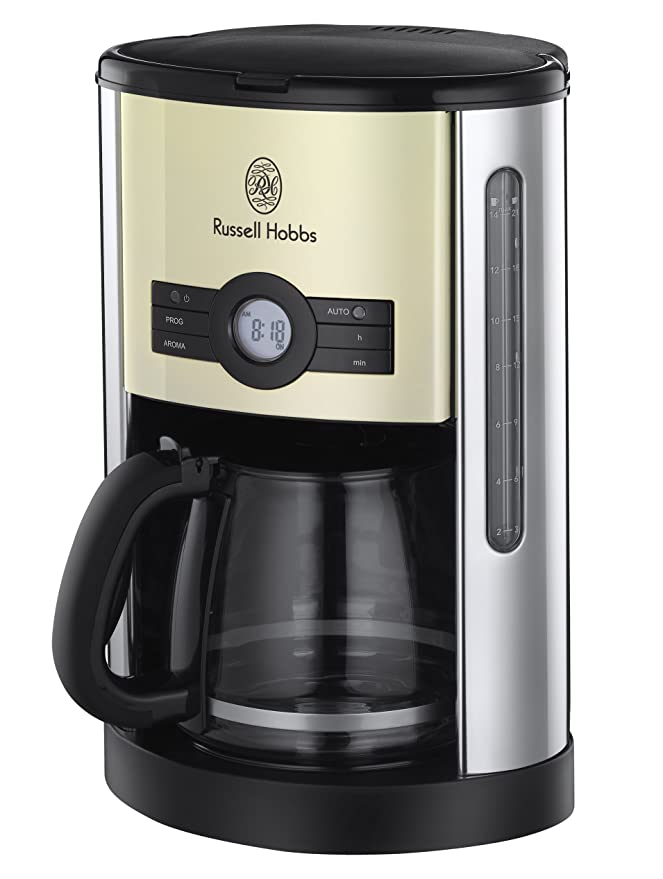 Amazon.com: Russell Hobbs Heritage Cafetera eléctrica ...