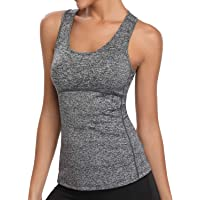 Dry Fit Tank Tops for Women Running Vests Summer Gym Workout Slimming Racerback Sleeveless Shirts