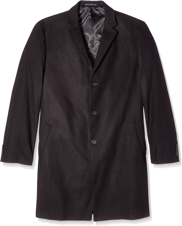 Ike Behar Men's Big and Tall Savoy, black, 50L