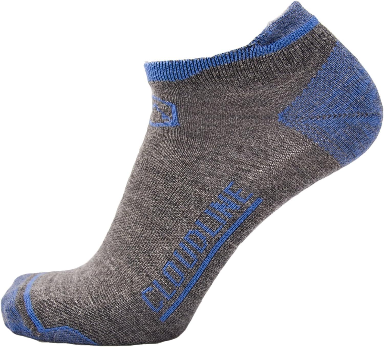 CloudLine Merino Wool Athletic Tab Ankle Running Socks Ultra Light - for Men & Women