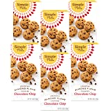 Simple Mills Almond Flour Chocolate Chip Cookies, Gluten Free and Delicious Crunchy Cookies, Organic Coconut Oil, Good for Sn