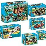 PLAYMOBIL® Wild Life 6-teiliges Komplett-Set 5557 5558 5559 5560 5561 5562 Ab...