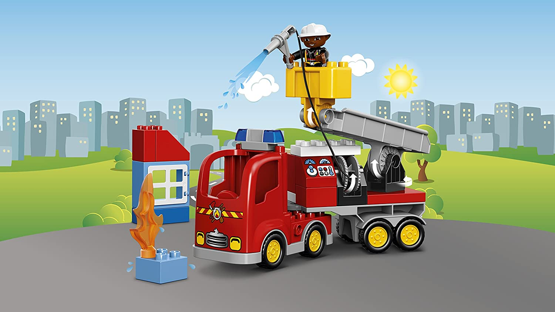 lego 10592 duplo le camion de pompiers ebay. Black Bedroom Furniture Sets. Home Design Ideas