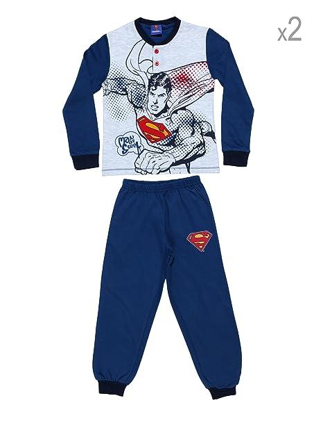 Warner Bros Juego de 2 Pijamas Superman Denim 5 Años