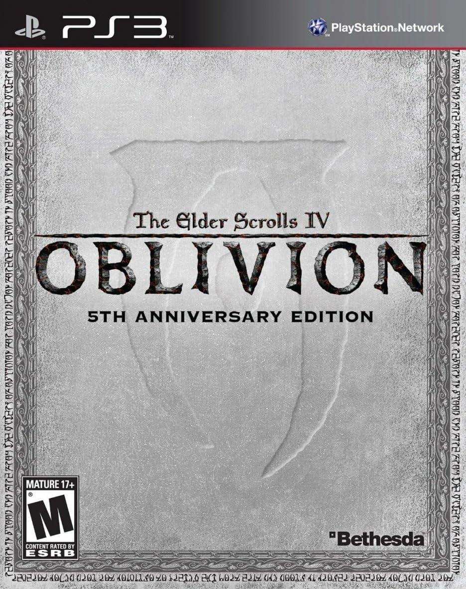 Bethesda The Elder Scrolls IV: Oblivion 5th Anniversary Edition, ENG[Importación inglesa]
