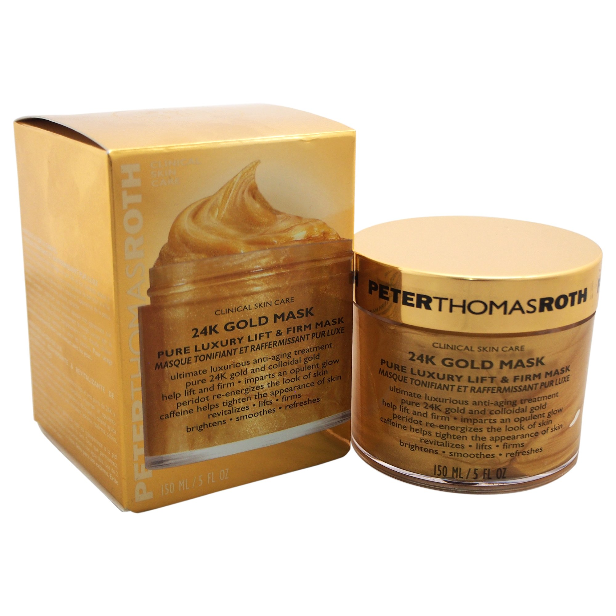 Peter Thomas Roth 24K Gold Pure Luxury Lift and Firm Mask, 5 Ounce