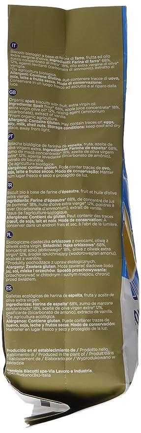 Smileat - Galletas Ecológicas De Espelta Y Manzana Con Aceite De Oliva Virgen Extra, pack de 6 x 220 gr. (Total 1320 gr.): Amazon.es: Alimentación y bebidas