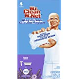 Mr. Clean Magic Eraser Bath with Febreze Lavender Scent, Cleaning Pads with Durafoam 4 count