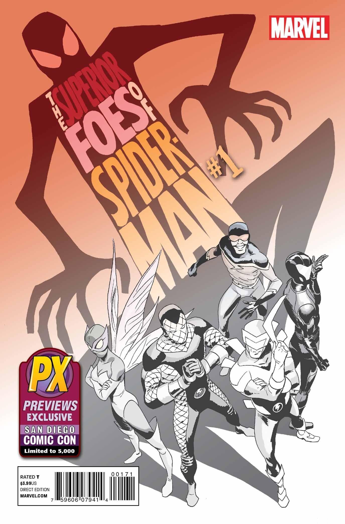 Marvel Comics SUPERIOR SPIDER-MAN #1 first printing Comic Fest