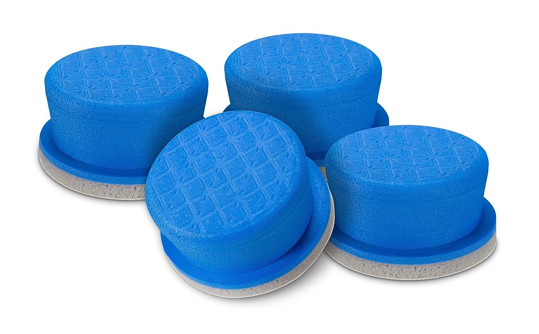 Turtle Wax 50748 Premium 3-Layer Foam Applicator, 4-Pack