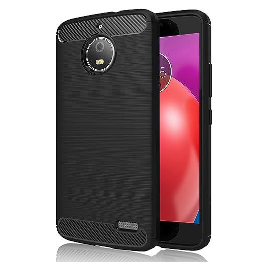 2 opinioni per Cover Lenovo Moto E4 , GeeRic Nero Silicone Custodia Motorola Moto E4 Cover