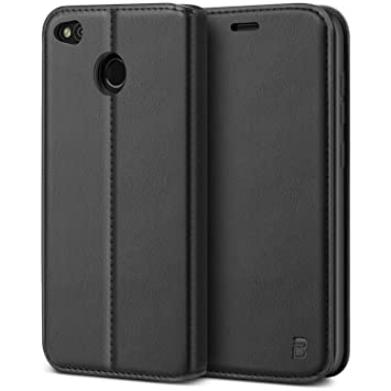 buy online 9416f fa029 BEZ Case for Xiaomi Redmi 4X Case, Protective PU Leather Wallet Flip Phone  Cover Compatible with Xiaomi Redmi 4X with A Card Holder, Kick Stand, ...