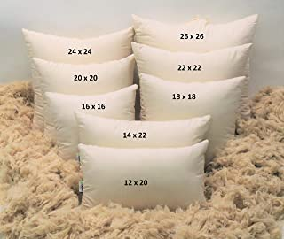 "product image for 14"" x 22"" Euro Pillow - Organic Cotton - Kapok Fill"