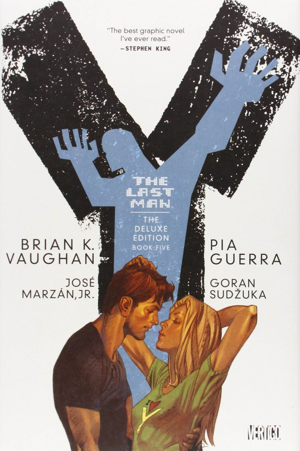 Amazon: Y: The Last Man, Book 5, Deluxe Edition (9781401230517): Brian  K Vaughan, Pia Guerra: Books