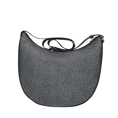 Prezzo di fabbrica 2019 Sconto speciale New York Borbonese Luna Bag, Borsa a Spalla Donna, 35x38x15 cm (W x H x L)