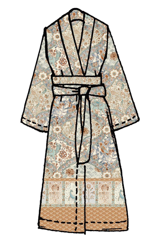 Bassetti Kimono   Calcutta V7 - S-M