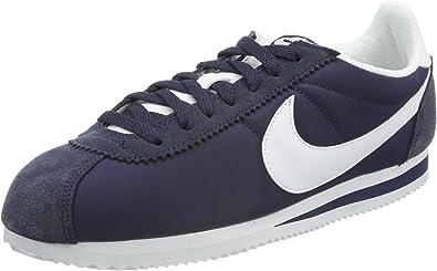 Nike Men\u0027s Classic Cortez Nylon Running Shoes, Blue