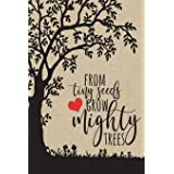 From Tiny Seeds Grow Mighty Trees: Paraprofessional Gifts, Teacher Notebook, Inspirational Teacher Gifts, Teacher Gifts Appre