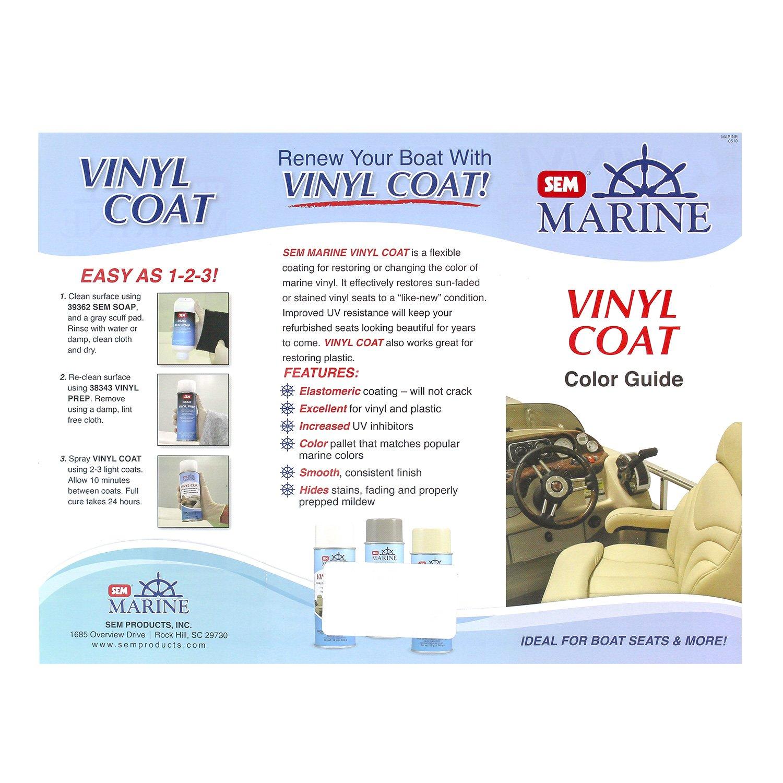 Amazon Sem Vinyl Coat Marine Series Color Guide Automotive