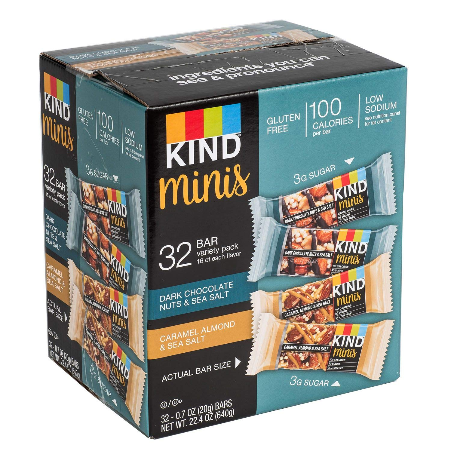 KIND Minis Variety Pack (32 ct.) by KIND (Image #1)