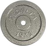 Delta Elite Döküm Plaka, Gri, 1 x 15 kg