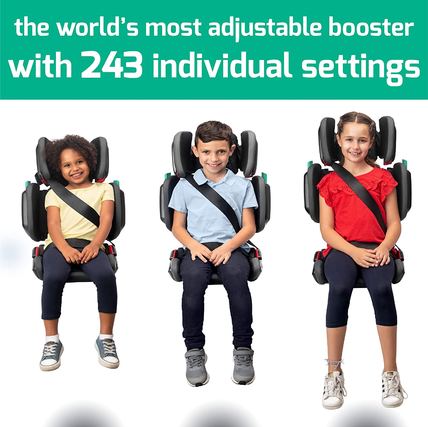 Mifold Hifold Fit-and-Fold Highback Booster Seat