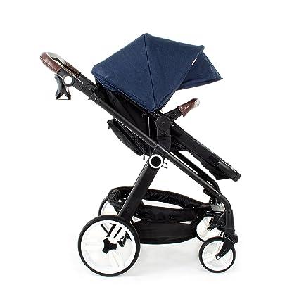Mi Babiie Denim 2 en 1 Cochecito de bebé y carrito