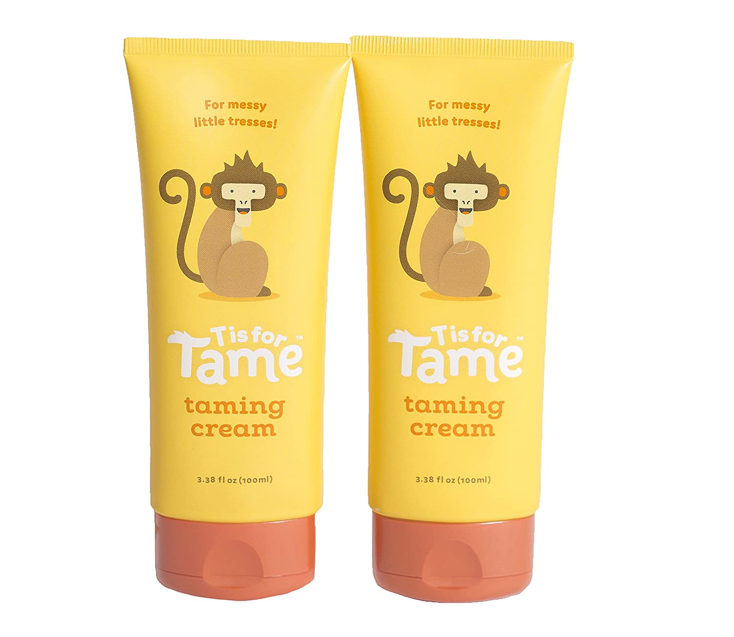 Hair Taming Matte Cream | Babies, Toddlers & Up | Safe & Effective | Coconut & Jojoba Oil | Not Greasy, Stiff, or Sticky T is for Tame