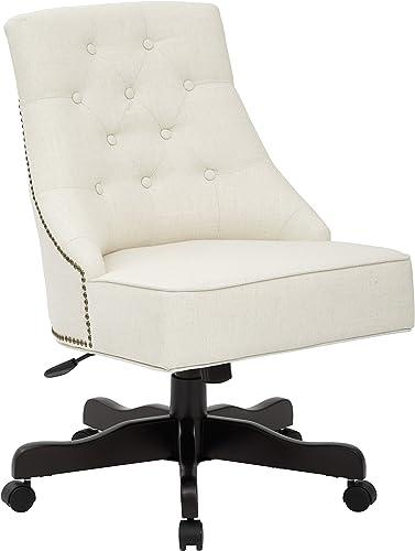 INSPIRED by Bassett Rebecca Office Chair, Linen