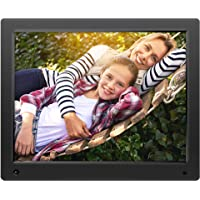 NIXPLAY Original Digital Photo Frame WiFi 15 inch W15A. Show Pictures on Your Frame Via Mobile App, Email or USB. Smart Electronic Frame with Motion Sensor. Remote Control Included