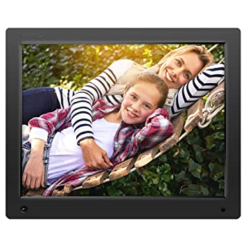 Amazoncom Nixplay Original 15 Inch Wifi Cloud Digital Photo Frame